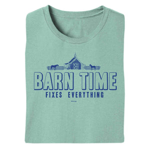 Barn Time Adult Short Sleeve Tee