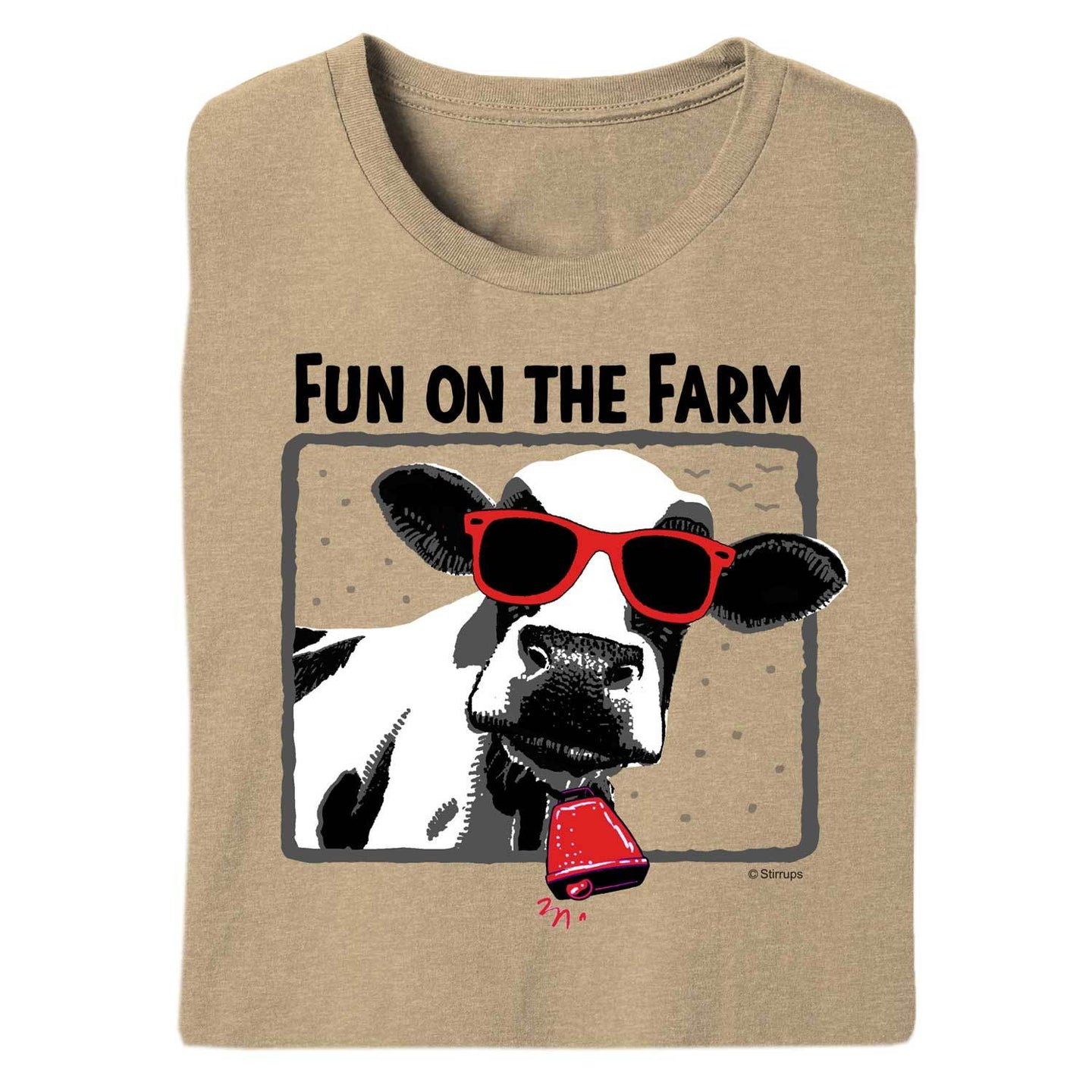 Fun on the Farm Adult Short Sleeve Tee