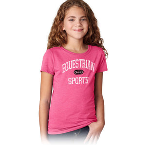 Equestrian Sports Girls Short Sleeve Tee 20157