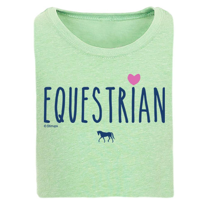 Equestrian Girls Short Sleeve Tee 20161