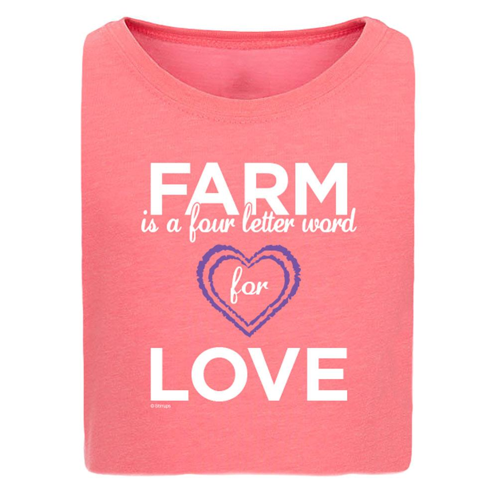 Farm = Love Girls Short Sleeve Tee 20162