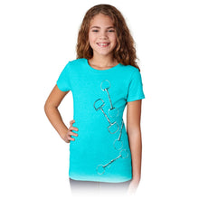 Load image into Gallery viewer, Four Large Bits Girls Short Sleeve Tee 20165