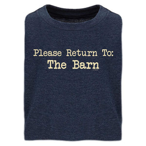 Please Return to Barn Youth Short Sleeve Tee 20171