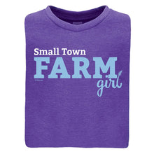 Load image into Gallery viewer, Small Town Farm Girl Youth Short Sleeve Tee 20178
