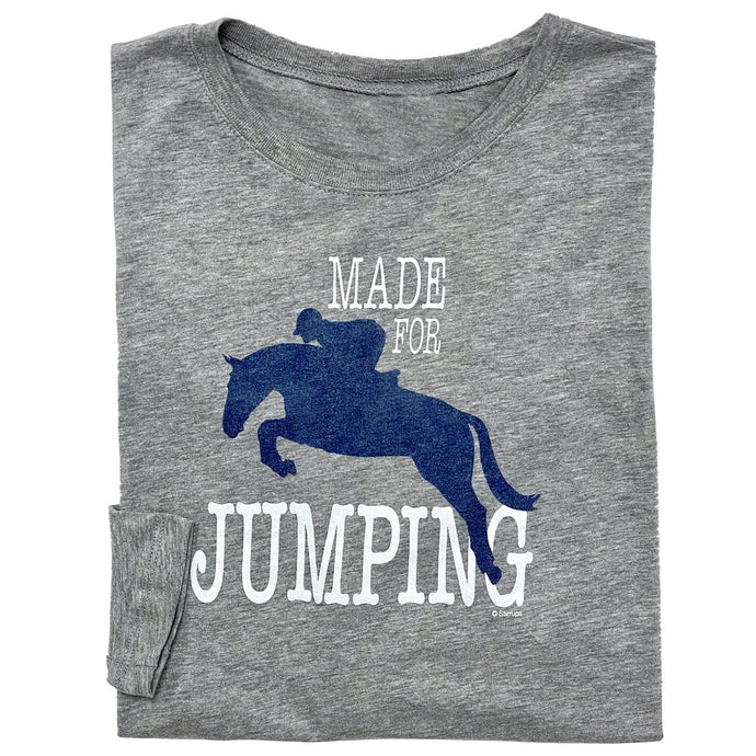 20525 - Made For Jumping Long Sleeve Fitted Tee