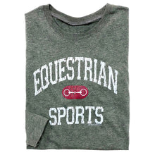 Load image into Gallery viewer, 20528 - Equestrian Sports w/ Bit Long Sleeve Fitted Tee