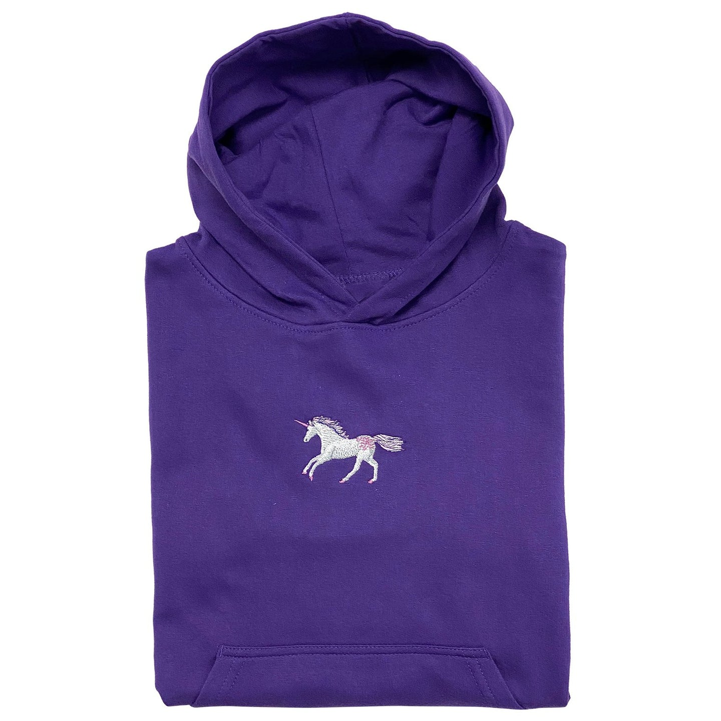20539 - Unicorns Embroidered Youth Hoodie