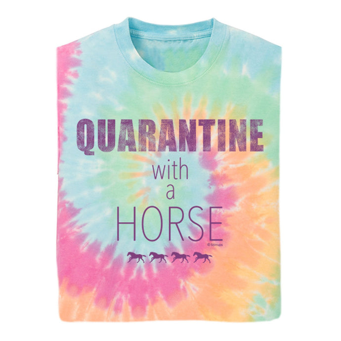21151 Quarantine with a Horse YOUTH Short Sleeve Tee
