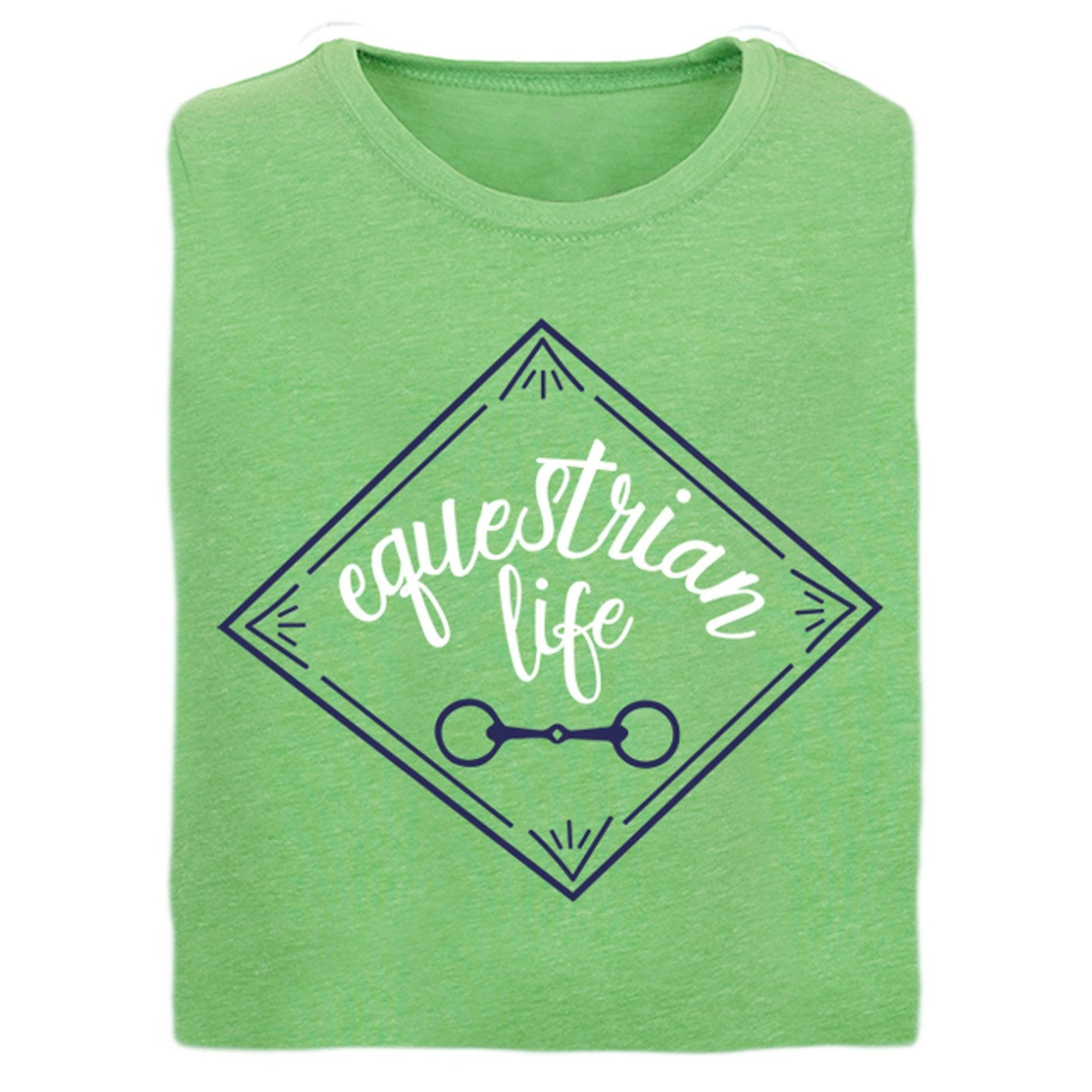 21152 Equestrian Life Girls Short Sleeve Tee