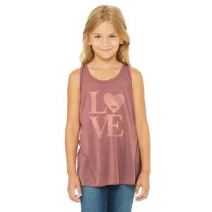 21163 LOVE YOUTH Tank Top
