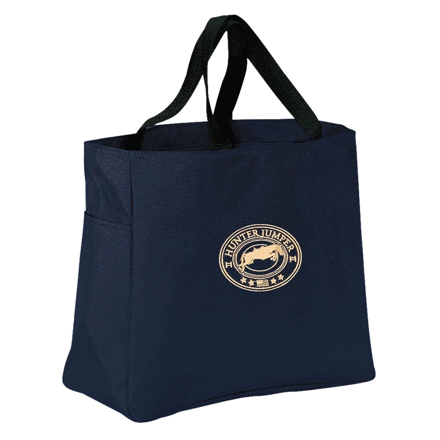 Hunter Jumper In Oval Barn Tote B905