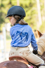 Load image into Gallery viewer, I Just Really Like Horses - Youth Comfort Colors Long Sleeve Tee EP-323