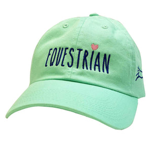 Equestrian with Heart Cap