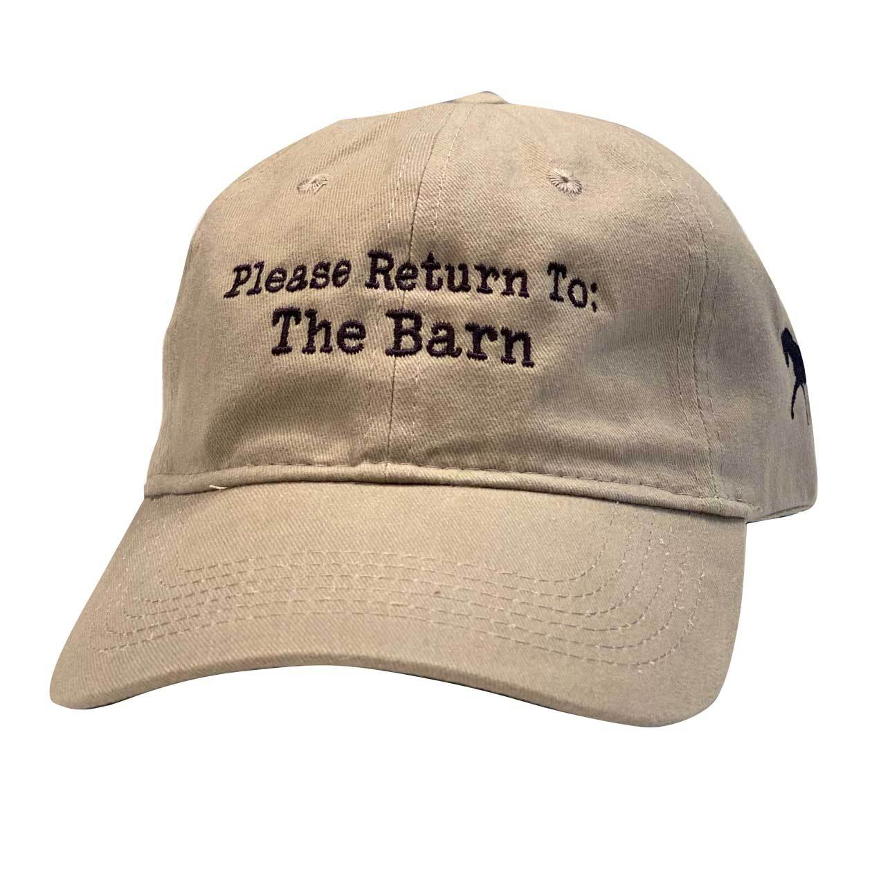 Please Return to Barn Cap
