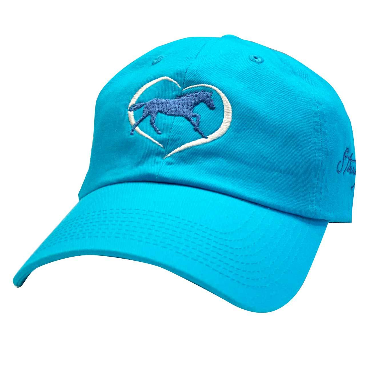 Horse in Heart Cap