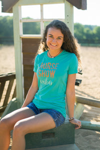 Horse Show Vibes Ladies Short Sleeve Tee 19106