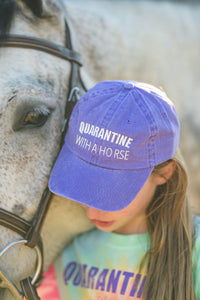 HY163 Quarantine With A Horse Youth Cap