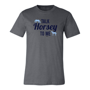 Talk Horsey To Me Adult Unisex Short Sleeve Tee 19155
