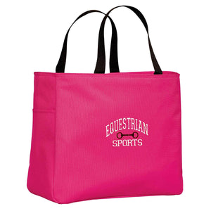 Equestrian Sports with Bit Tote Bag