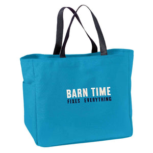 Barn Time Fixes Everything Tote Bag