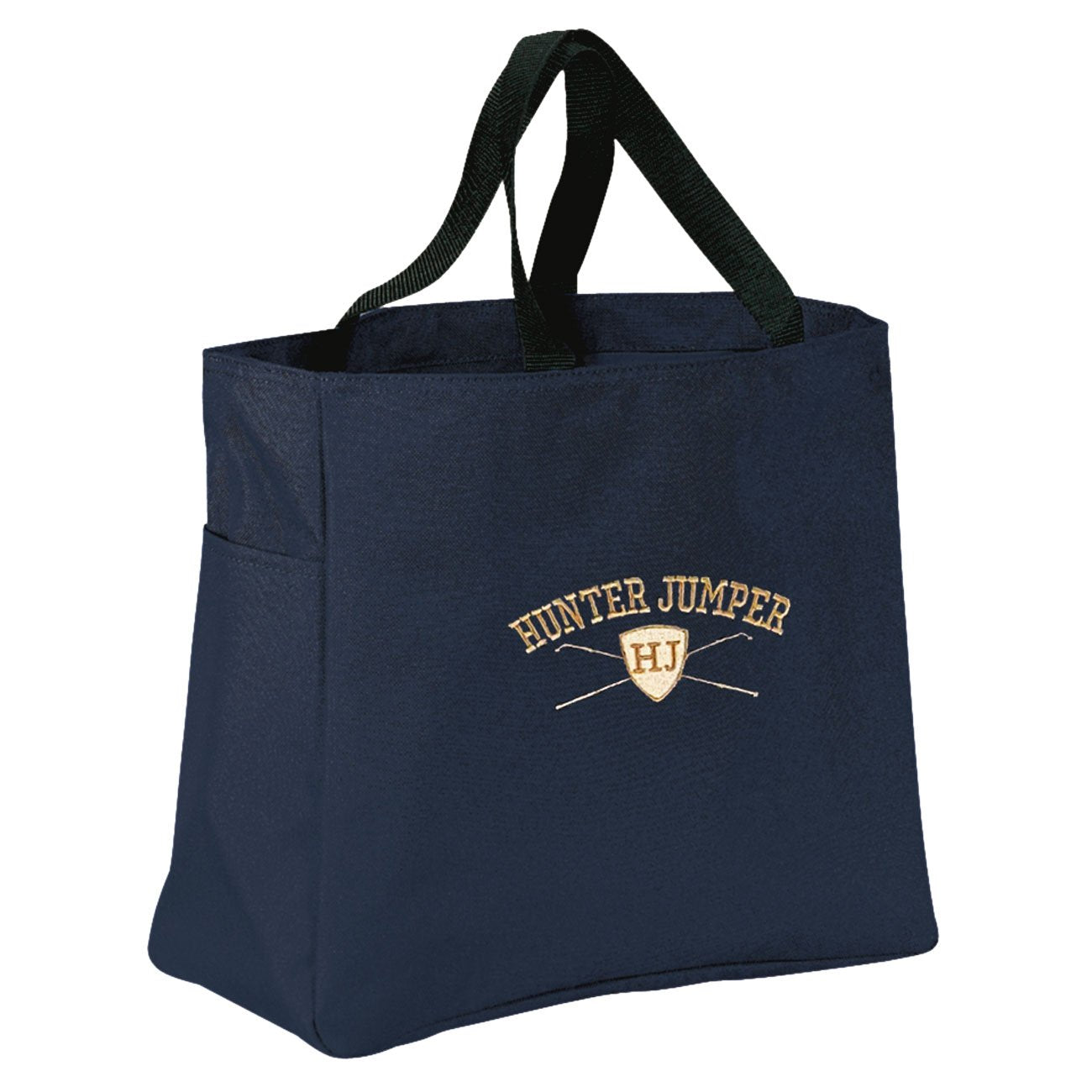 Hunter Jumper Shield Tote Bag