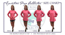 Load image into Gallery viewer, Equestrian Sports - English - Adult Comfort Colors Long Sleeve Tee EP-191