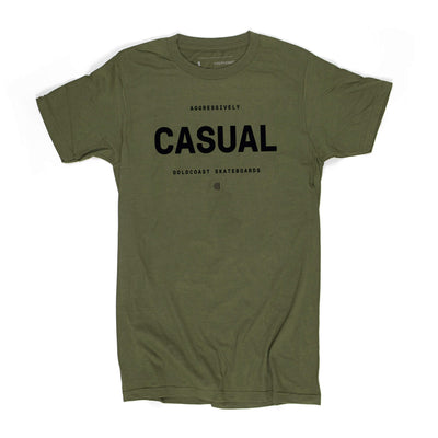 AGGRESSIVELY CASUAL T-SHIRT