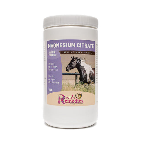 Magnesium is essential for a healthy nervous system, digestive ease and normal muscle function. It helps promote relaxation and the relief of pain, spasms and tension. Magnesium is also required for the metabolism of carbohydrates for Horses, ponies and donkeys. OnTotalWellness distributing for Ontario