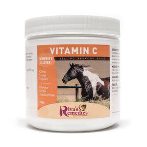 Vitamin C provides nutritional support for bones, joints and hooves. Immune support, liver health and energy. OnTotalWellness distributing for Ontario