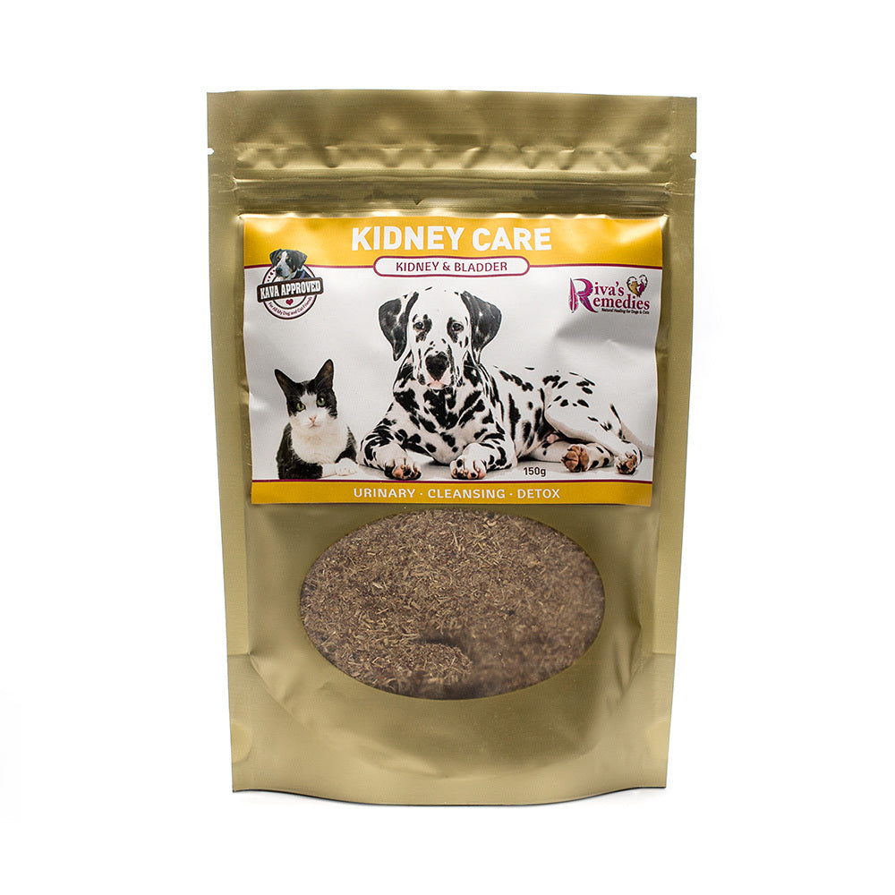 Kidney Care is a blend of herbs to help dogs and cats resolve kidney and bladder irritations, inflammation and water retention. OnTotalWellness distributor for Ontario