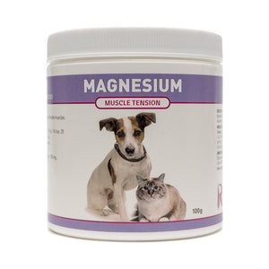Magnesium is an amazing nutrient for dogs and cats suffering from muscle tension, spasms or seizures. Riva's Magnesium is a safe and effective solution that works to induce calmness and relaxation. OnTotalWellness distributing for Ontario
