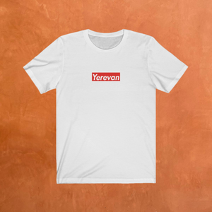 Yerevan Red Box Logo T-Shirt