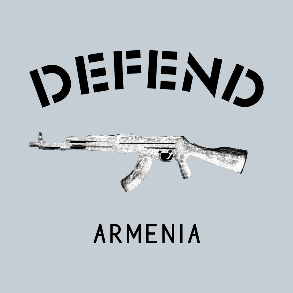 Defend Armenia Laptop Sticker/Decal