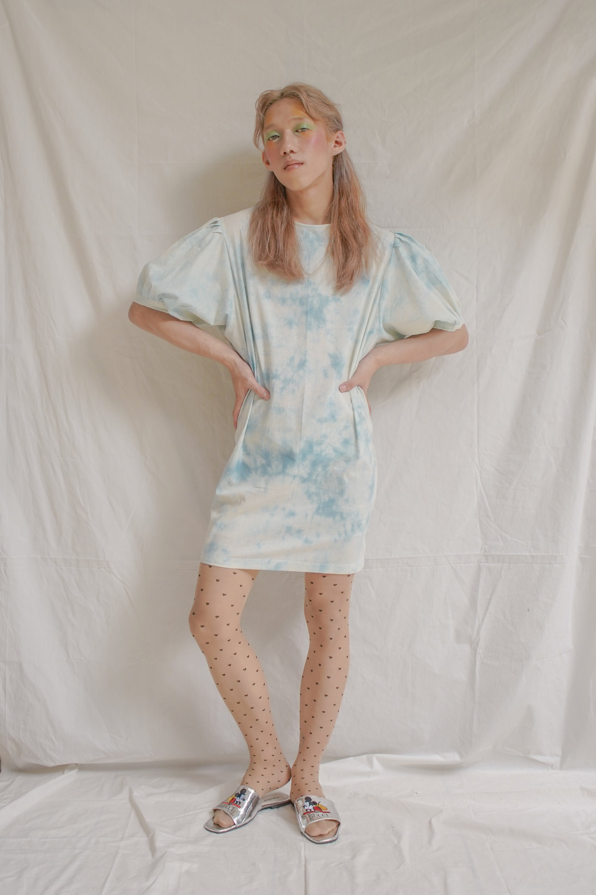 Sky Blue Powerpuff Dress