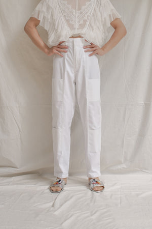 White Grocery Pants