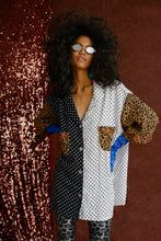 Load image into Gallery viewer, Naomi Mix Print Shirt Oversized