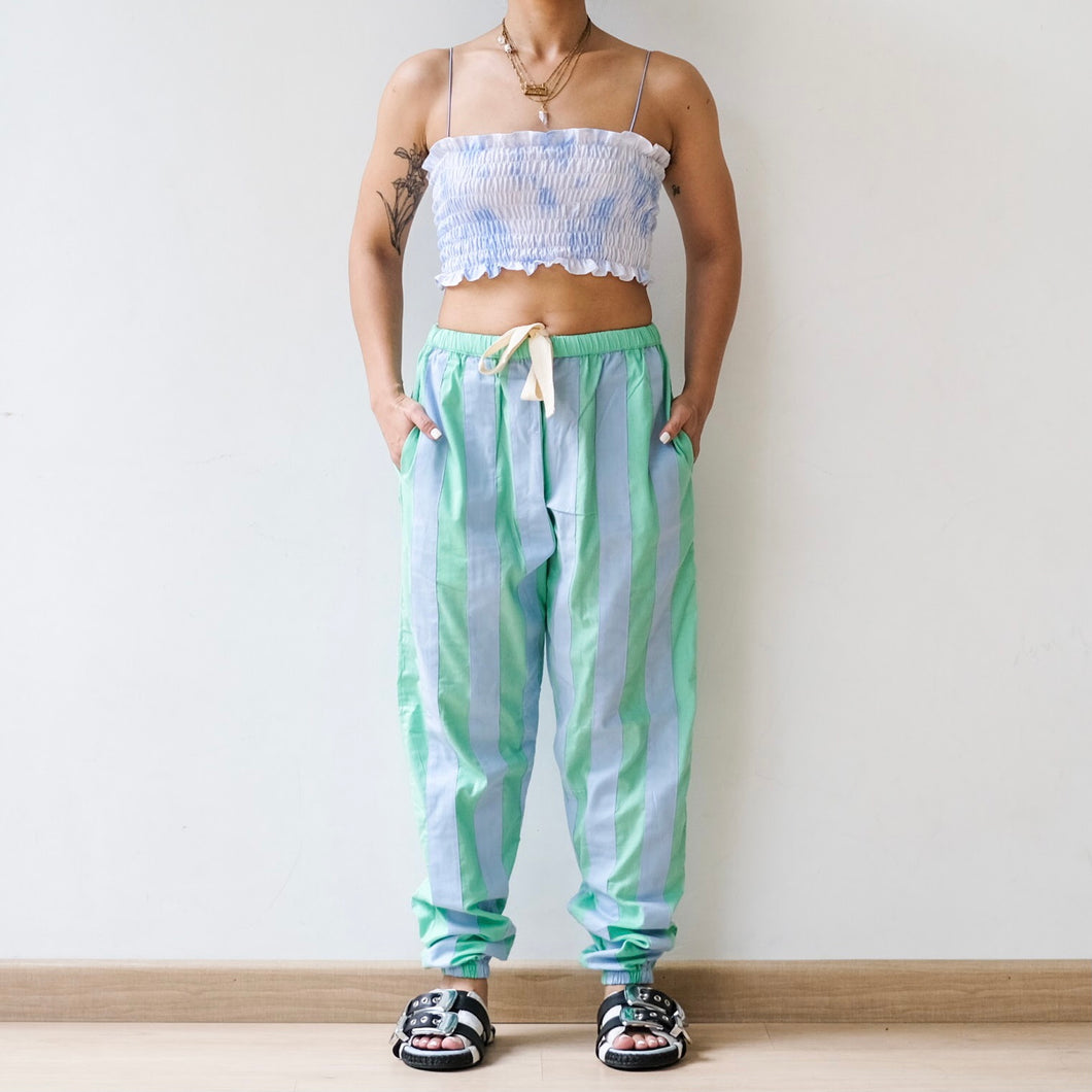 Bee Pants Mint Blue