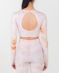 PRE ORDER Fluid Crop Top Rose