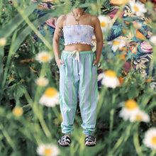 Load image into Gallery viewer, Bee Pants Mint Blue