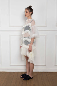 Twiggy Dress White