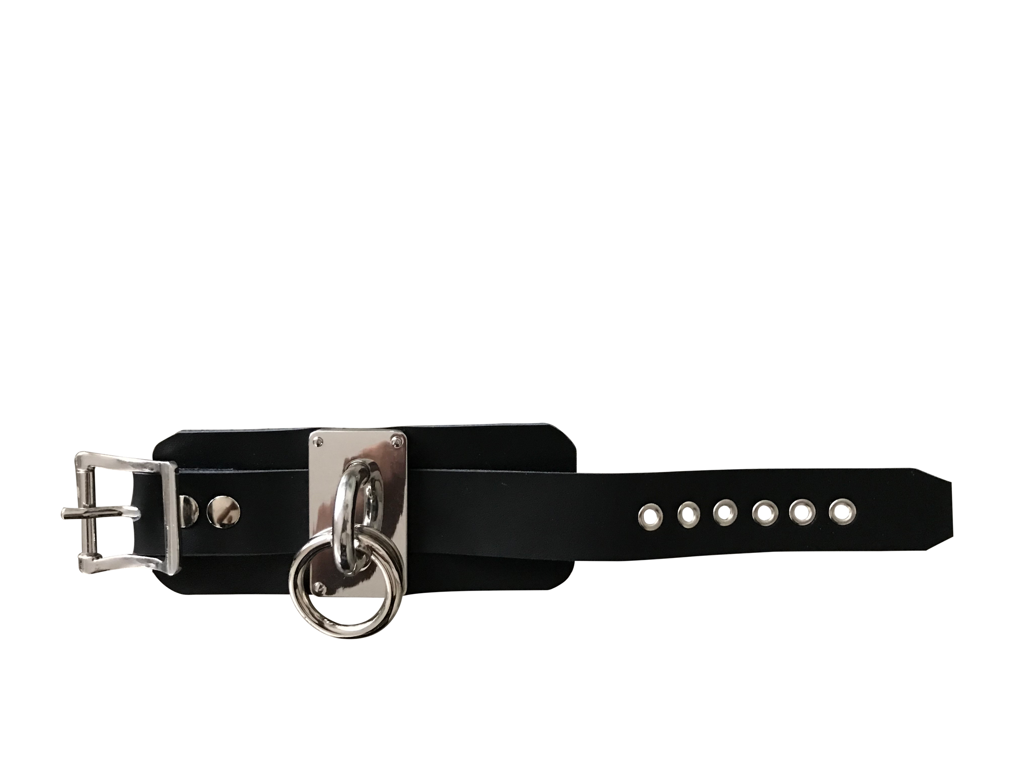 Punk Leather and Metal Buckle Bracelet - coleculture