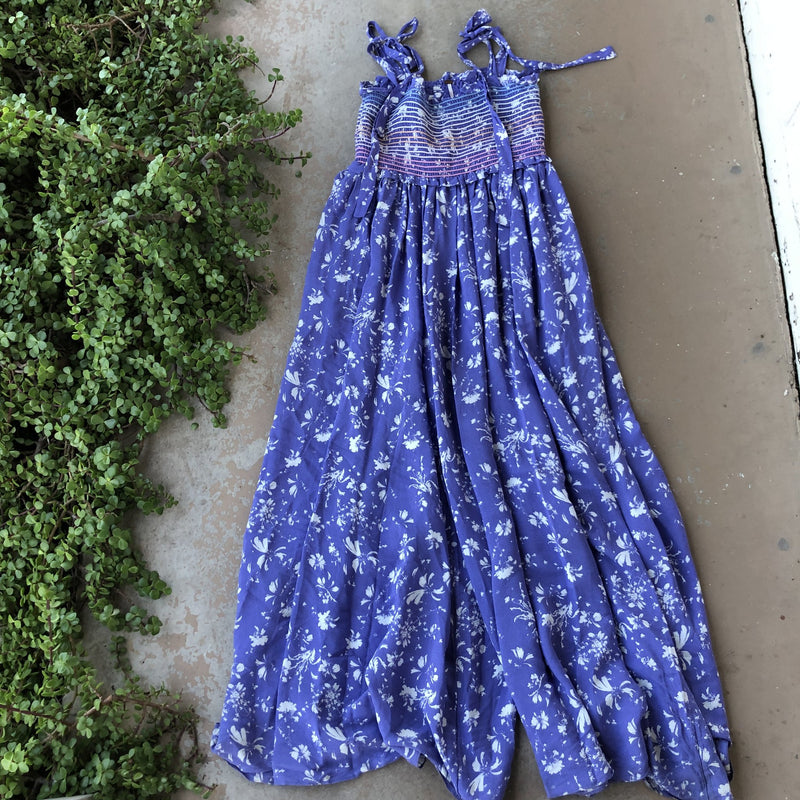 Free People Color My World Jumpsuit, Size Large