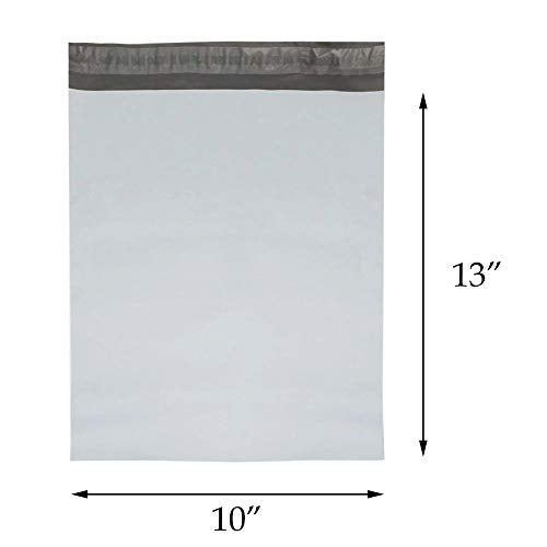 "Ship First Class: Self-Sealing Polymailers 10"" x 13"", 100 Count"