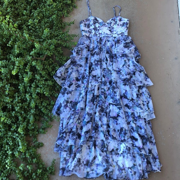 Fame and Partners Catherine Tiered Floral Dress, Size 10