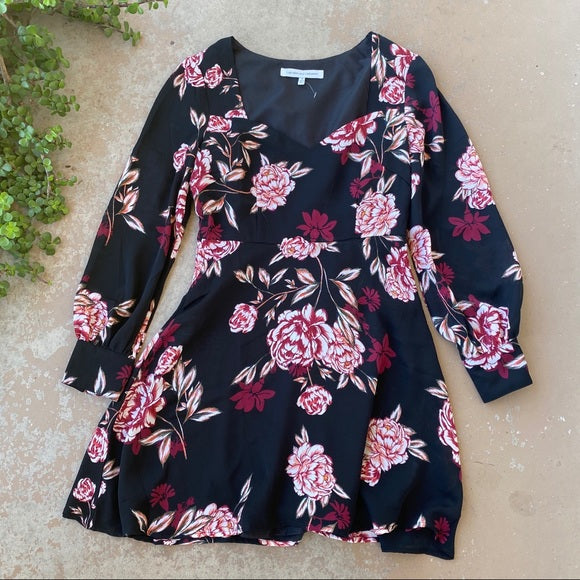 Cupcakes and Cashmere Jaylyn Floral Mini Dress, Size 4