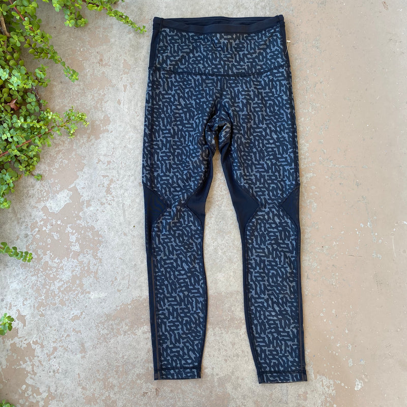 Lululemon High Waist Mesh Leggings, Size 6