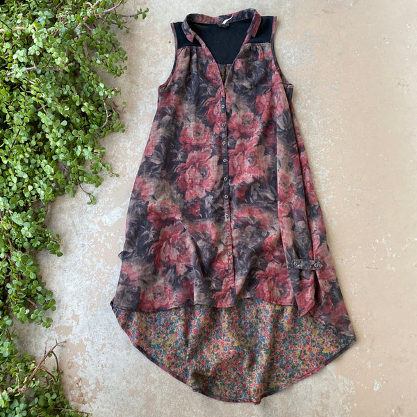 Free People Floral Swing Dress, Size XS
