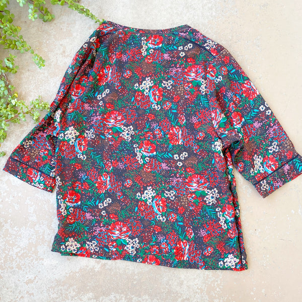 Scotch and Soda Peasant Floral Top, Size 2