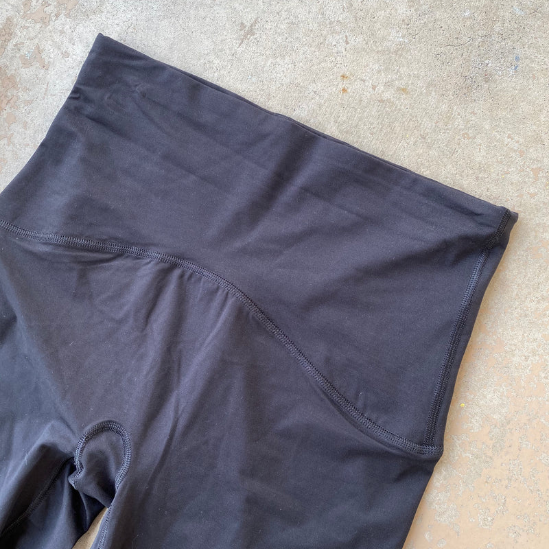 SPANX Black Booty Boost Active Leggings, Size XL