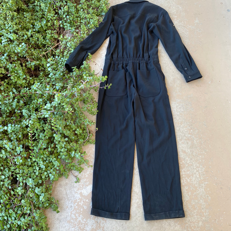 Rag & Bone Black Jumpsuit, Size 2